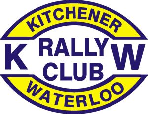 Kitchener waterloo rally club logo